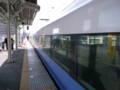 [train]特急さざなみ@館山駅