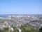 館山城模擬天守より市街を望む