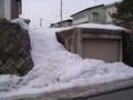 冬の積雪(2004年3月)