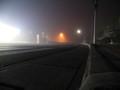 霧立ちこめる