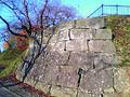 高水寺城石垣