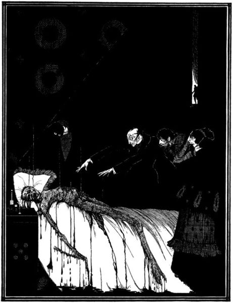 The Facts in the Case of M. Valdemar by Harry Clarke