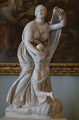 ニオベ像の写真