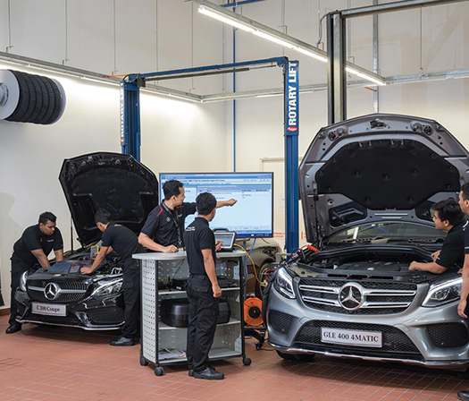 Mercedes services Melbourne