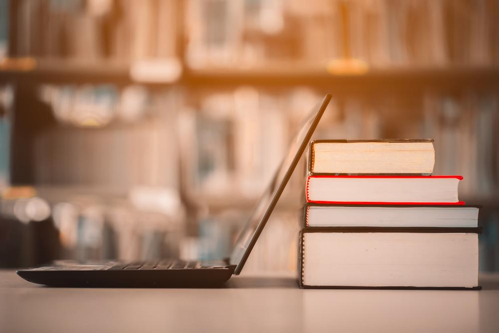 パソコンと本