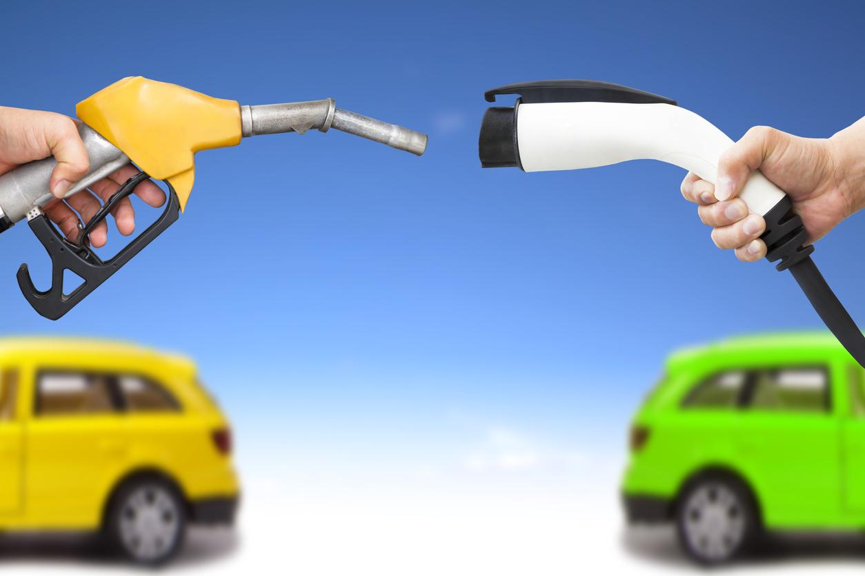 ガソリン車と電気自動車
