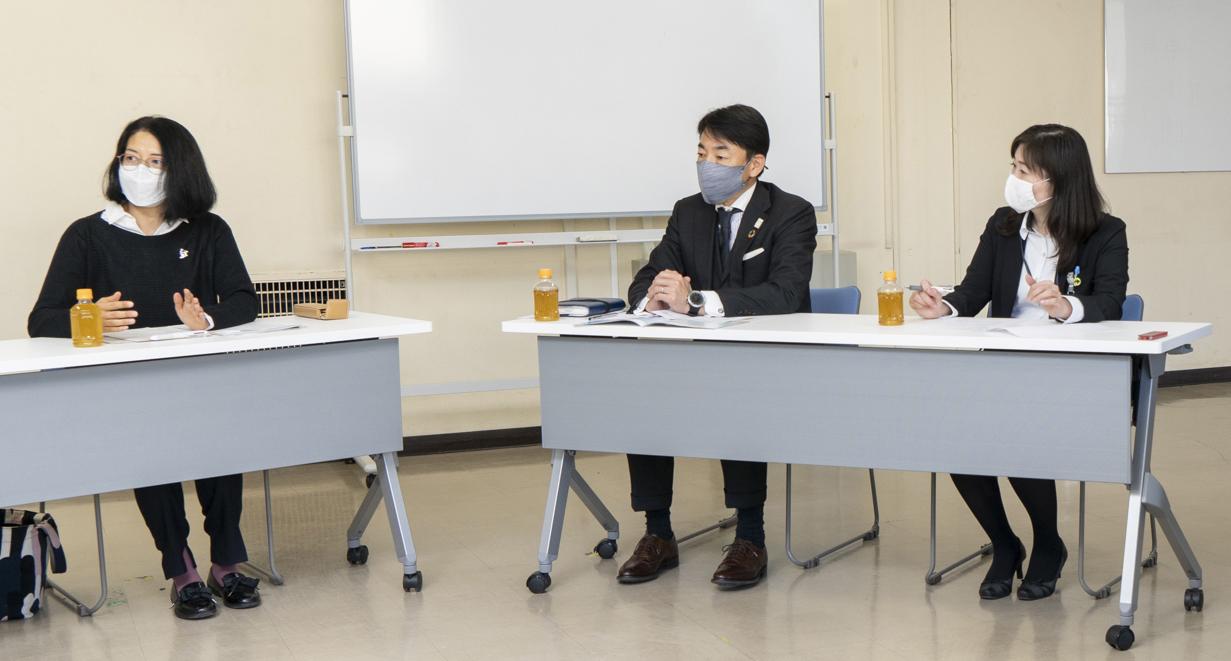 東京電力の社員さん