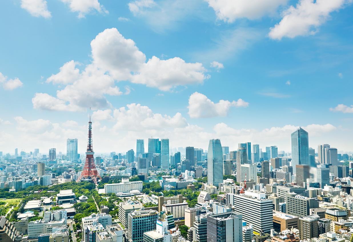 東京都の空