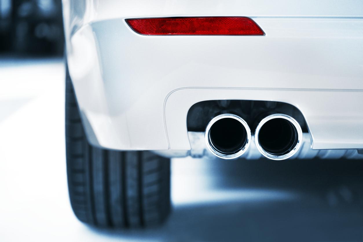 車の排気口