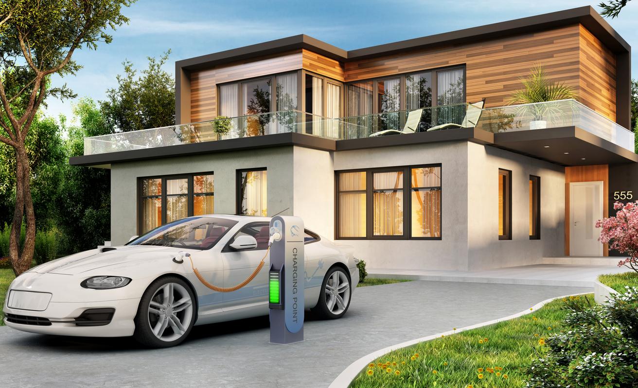電気自動車と家