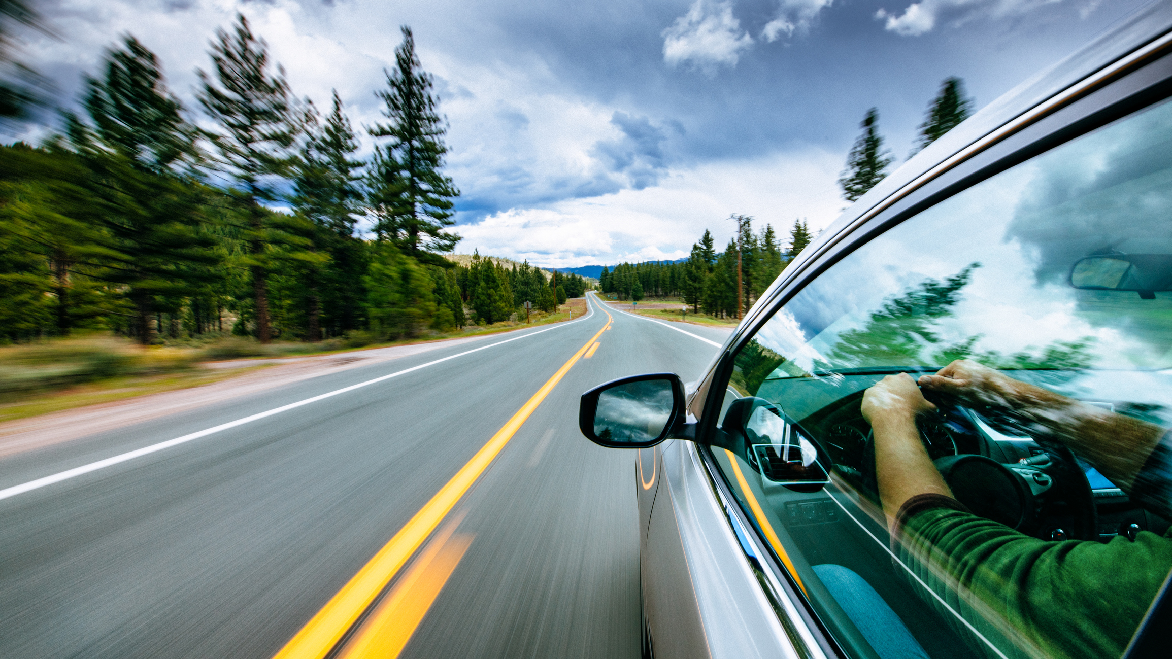 iStock画像 車と景色