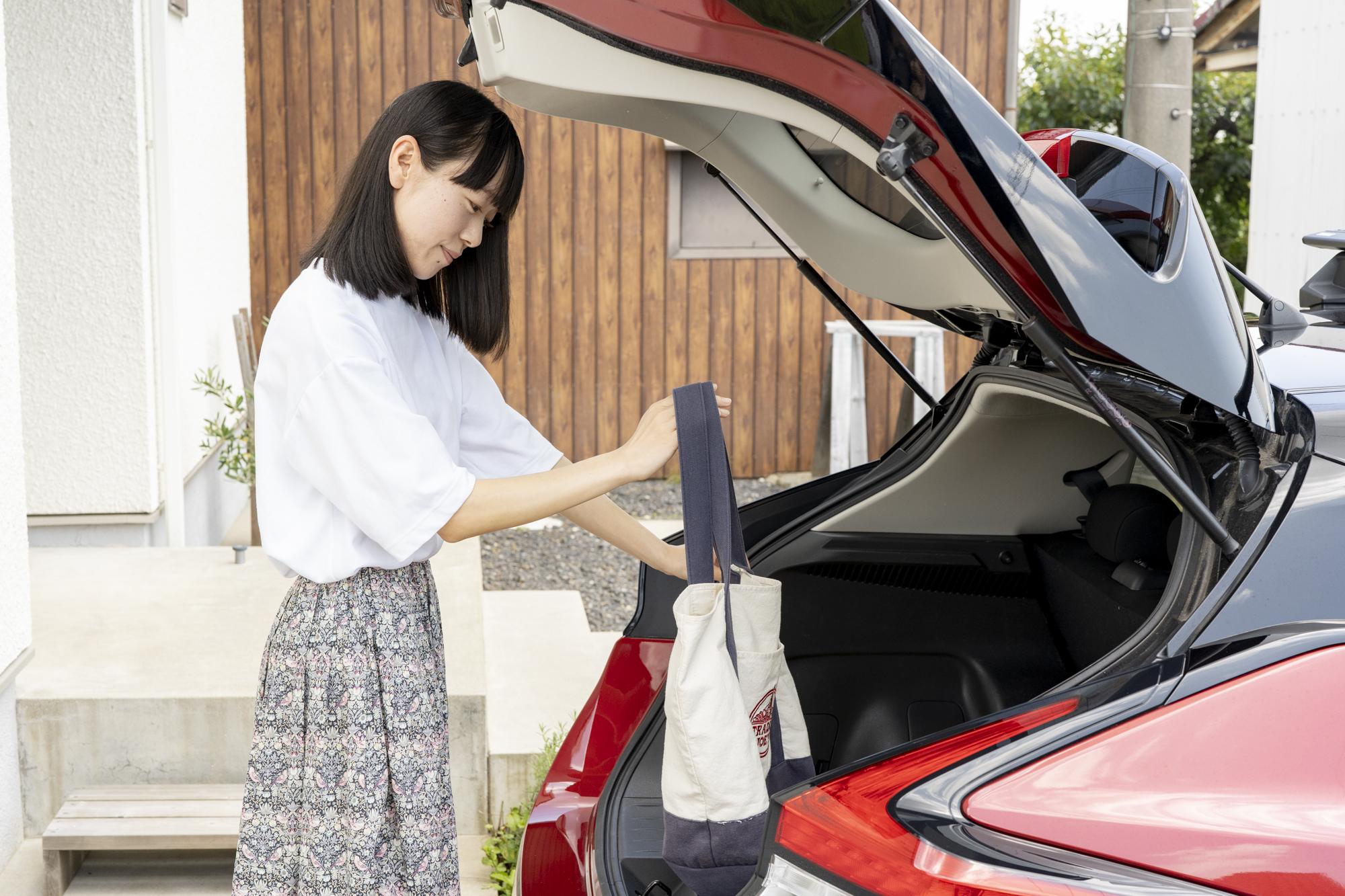 安藤さんと車