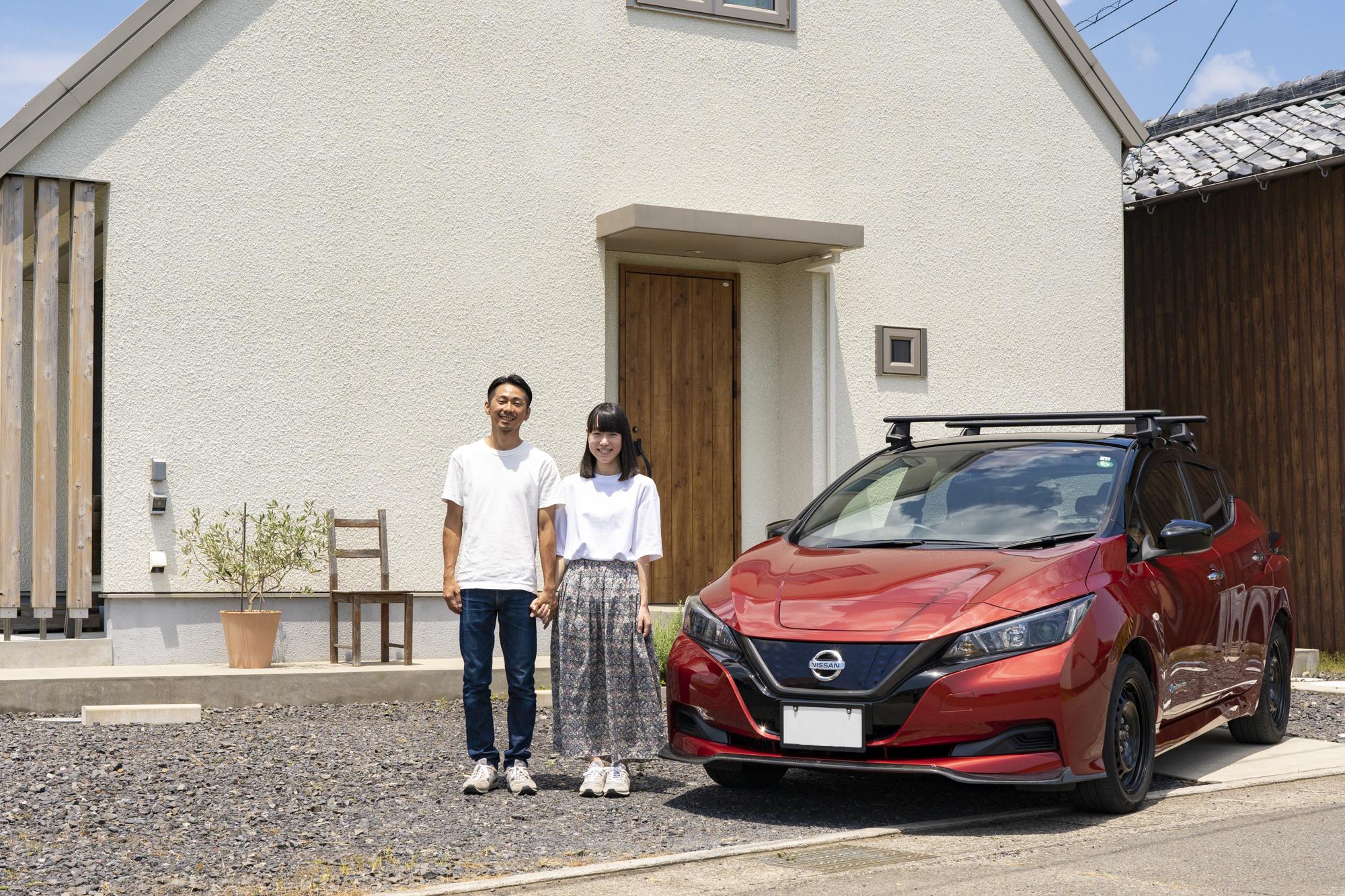 安藤さん夫婦と車