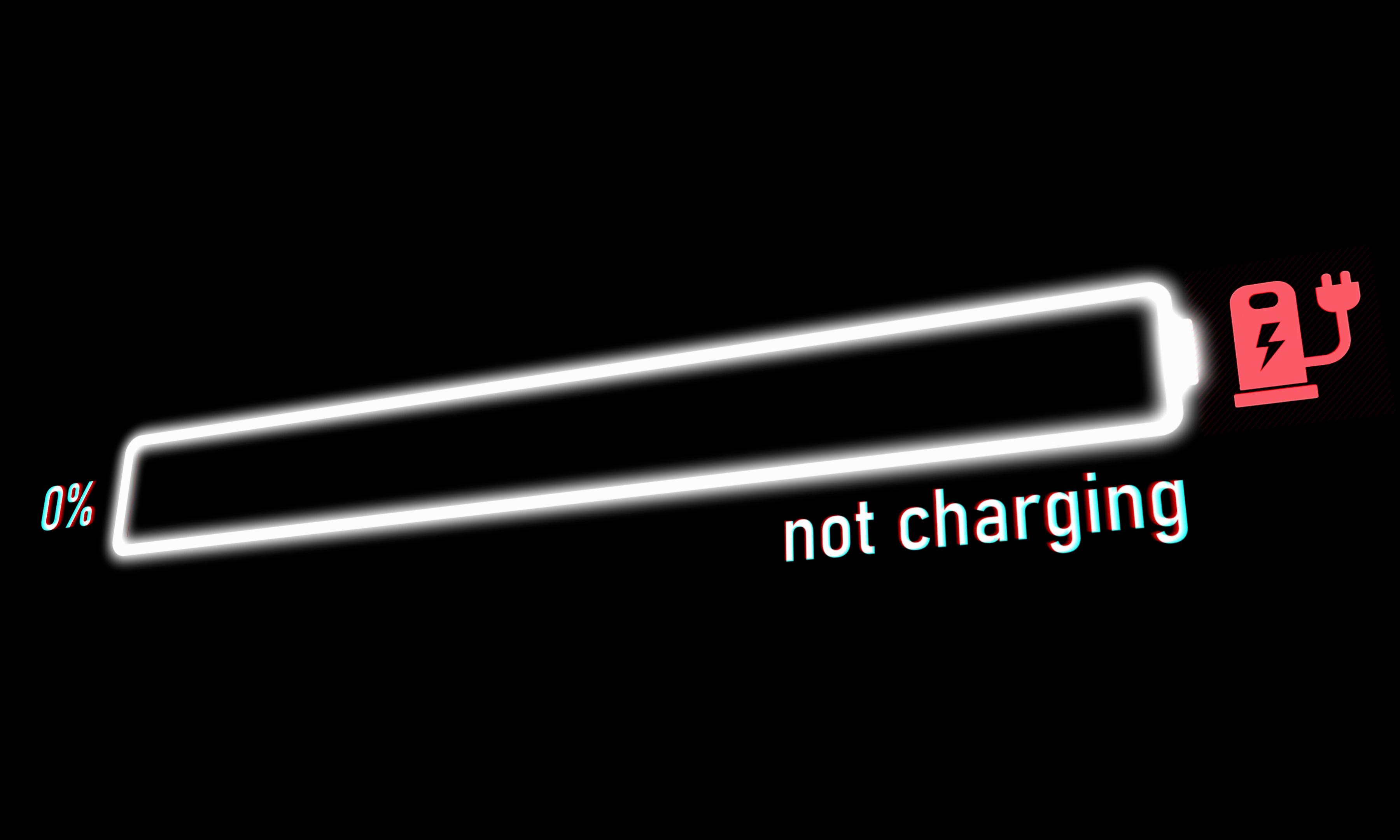 istock画像 バッテリー残量