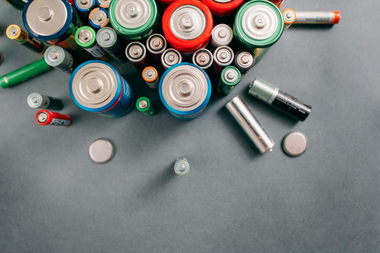 istock画像 乾電池