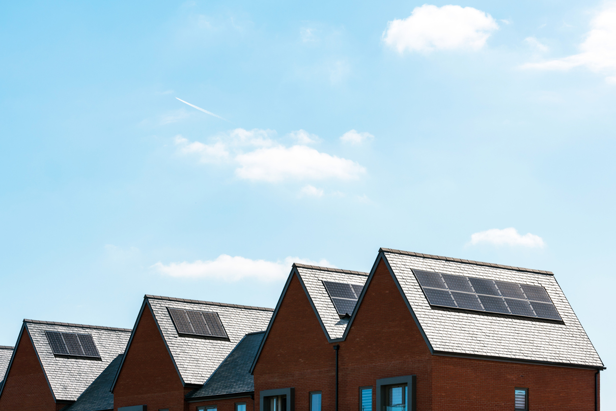 istock画像 太陽光発電