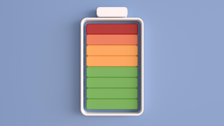 istock画像 バッテリー