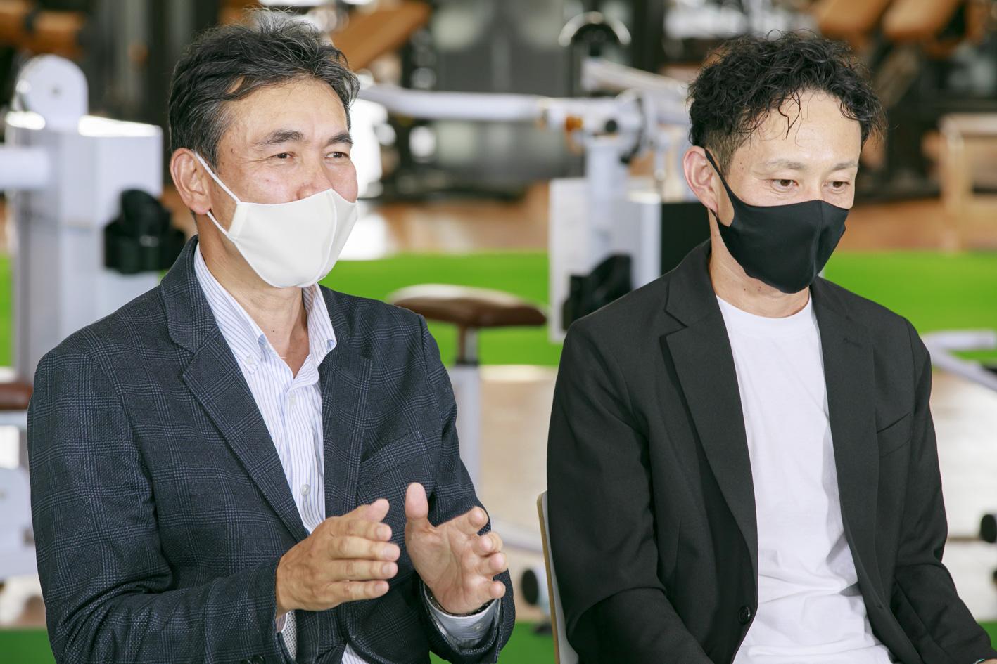塚田さんと萩原さん