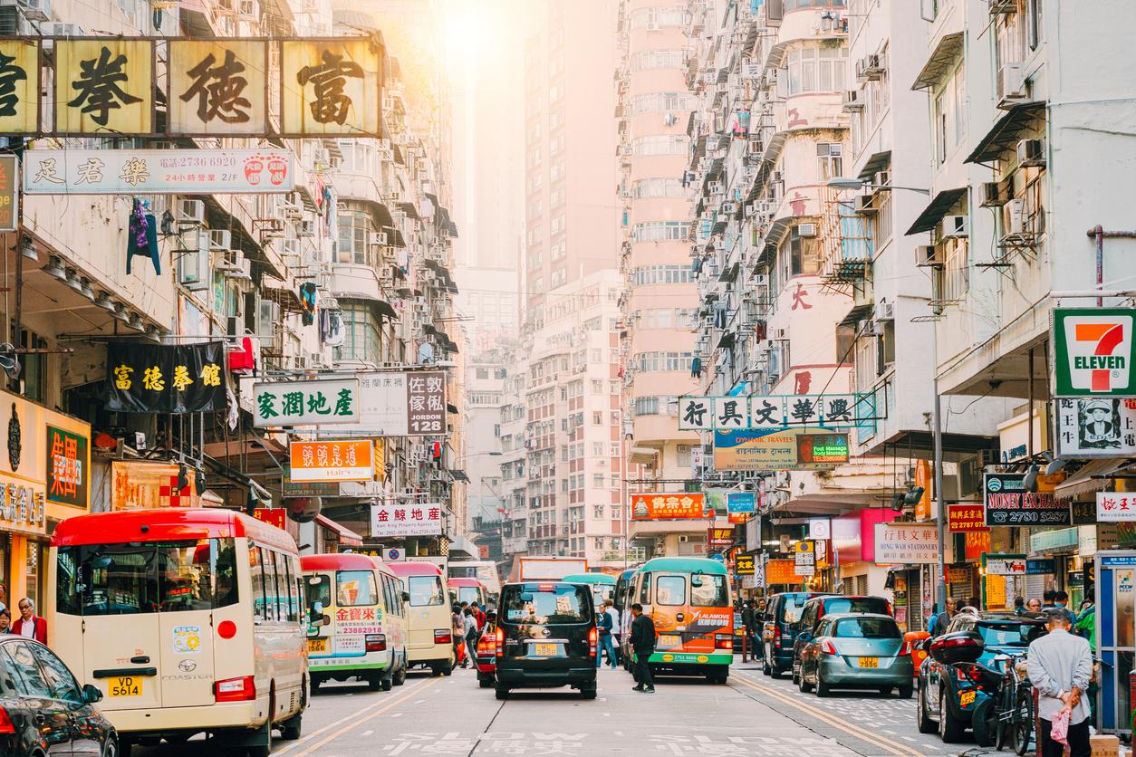 istock画像 中国の道路