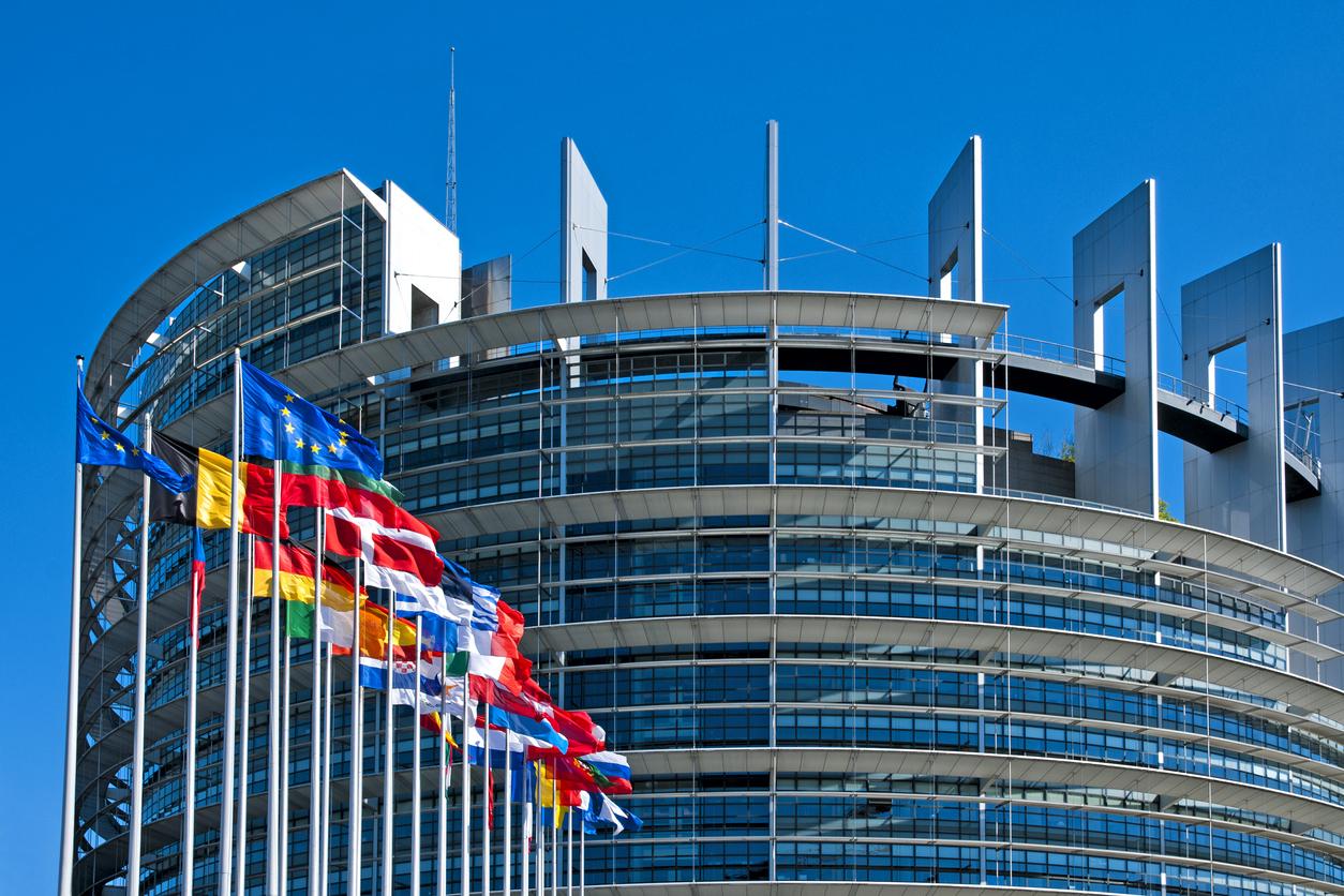 istock画像 ヨーロッパ国旗