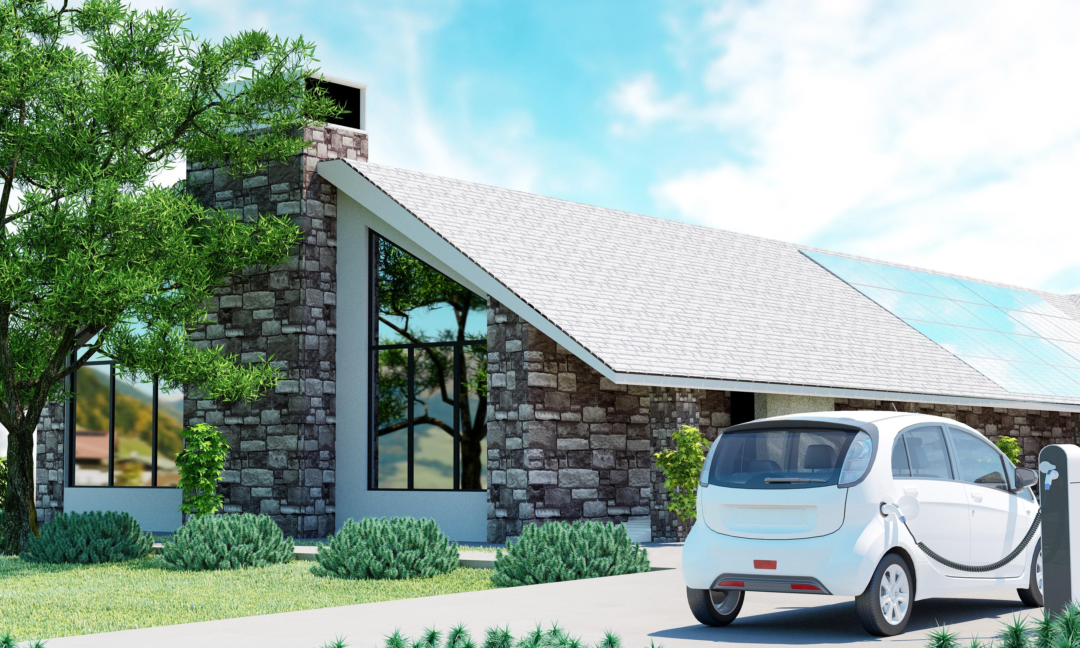 istock画像 EV車