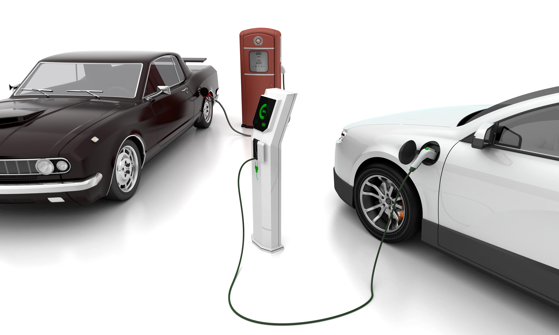 istock画像 EV車充電
