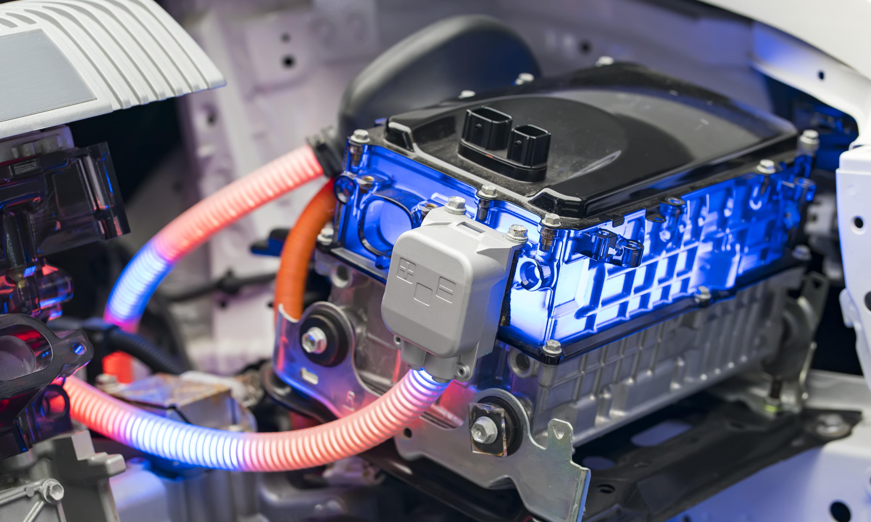 istock画像 EV車バッテリー