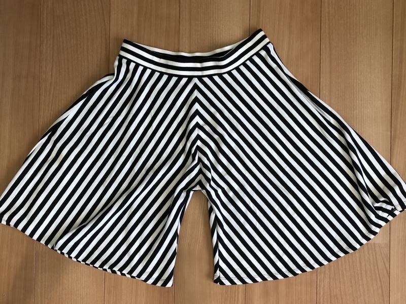 スカートをズボンにリメイク