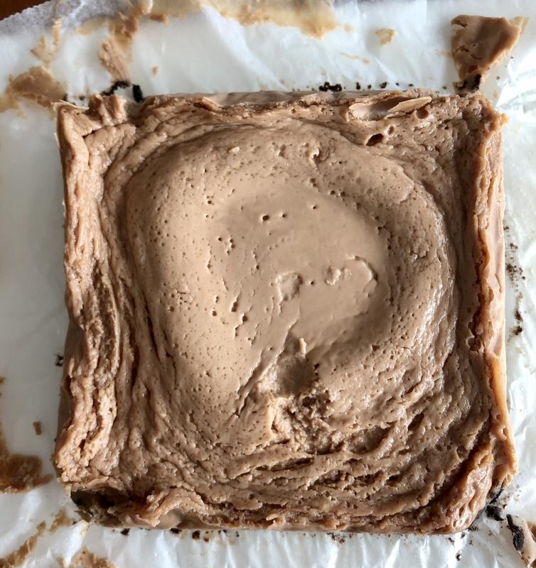 レンジで濃厚生チョコチーズケーキ