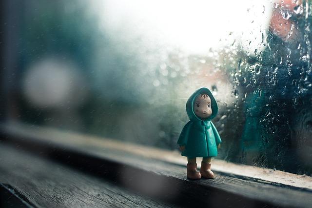 雨の日の通勤で、悲しい現実を知ったハナシ