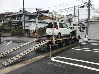 静岡県の放置車両の廃車引き取り
