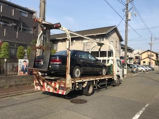 横浜市西区の故障車の廃車引き取り
