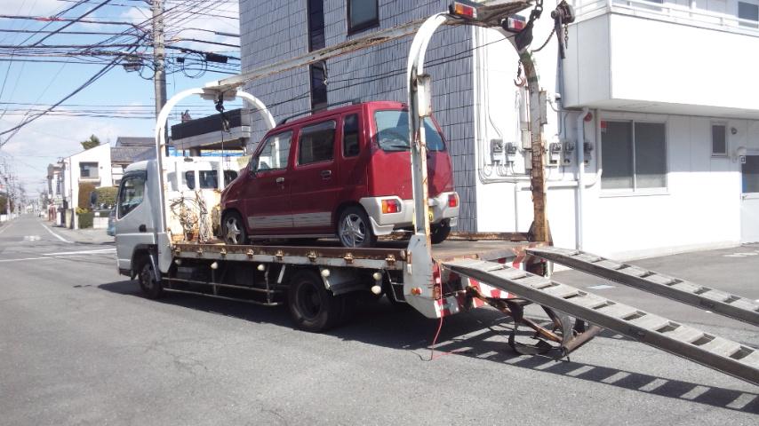 野田市の故障車の廃車引き取り