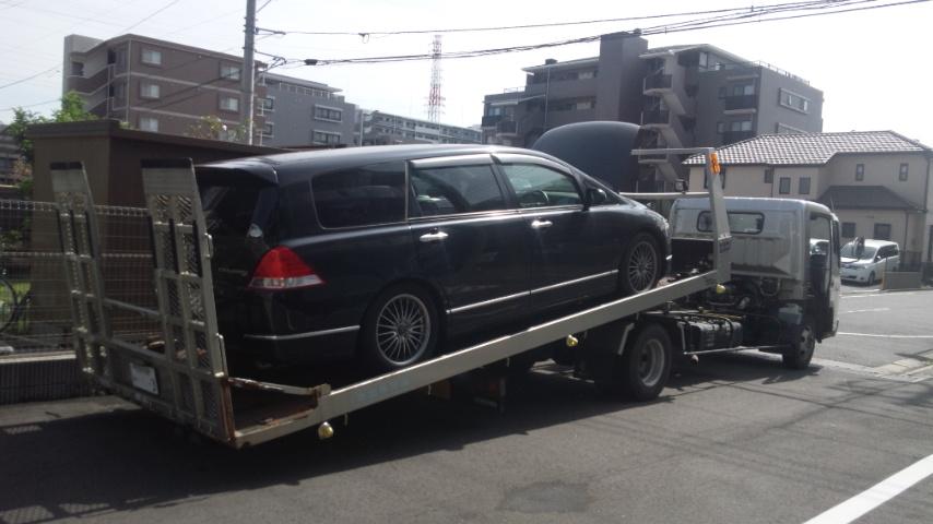浦安市の不動車の廃車の引き取り
