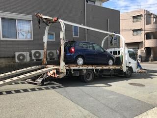 市原市の故障車の廃車の引き取り