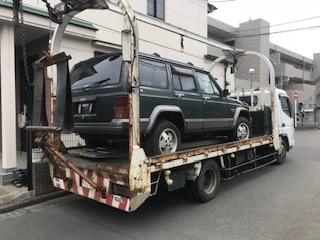 茅ヶ崎市の外車の廃車の引き取り