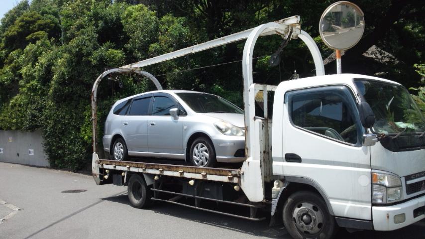 藤沢市の故障車の廃車の引き取り