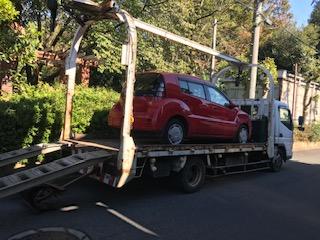 平塚市の故障車の廃車の引き取り