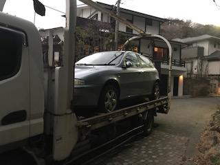 鎌倉市の外車の廃車引き取り