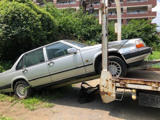 浦和区の放置車両の廃車の引き取り