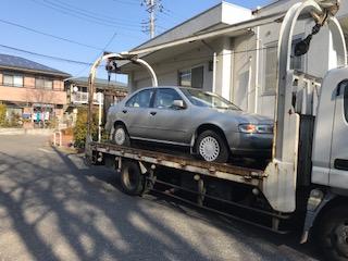 さいたま市南区の故障車の廃車の引き取り