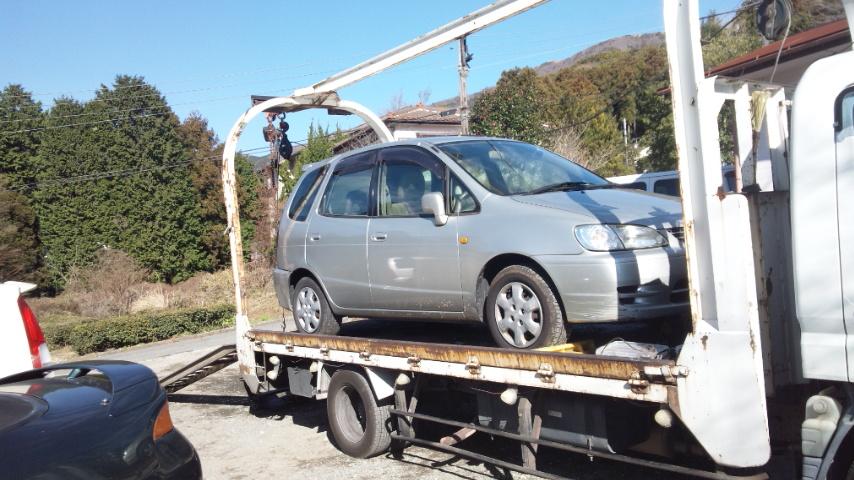 横瀬町の故障車の廃車引き取り