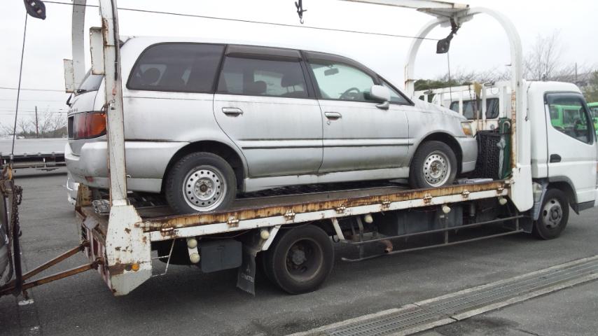太田市の不動車の廃車引き取り