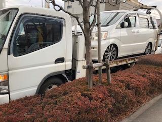 成田市の不動車の廃車引き取り