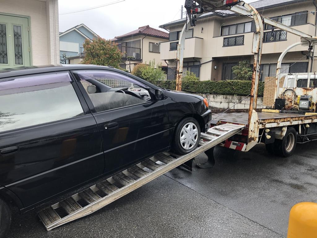 鶴ヶ島市の不動車の廃車引き取り