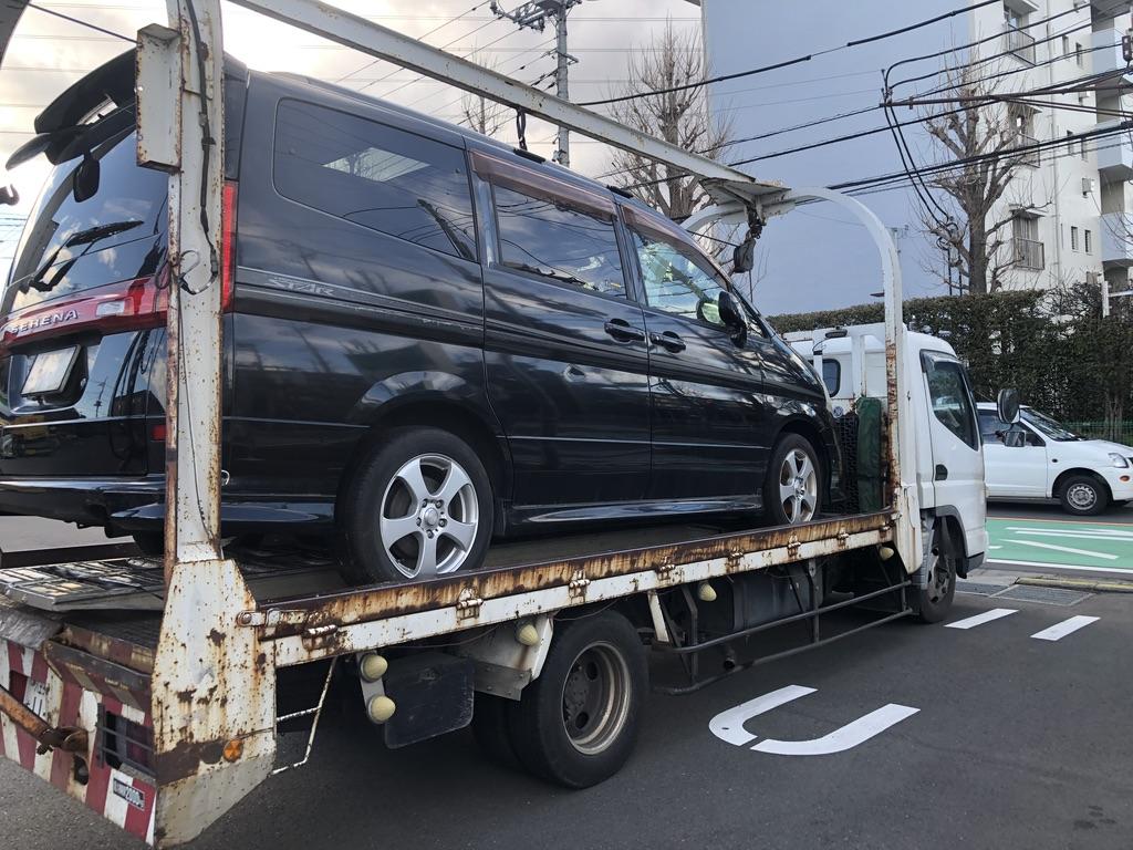和光市の故障車の廃車引き取り