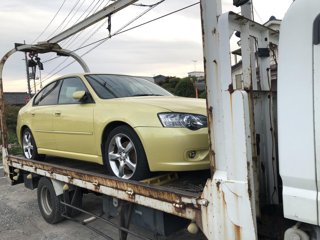 富士見市の故障車の廃車引き取り