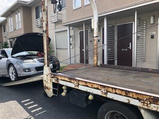 東松山市の故障車の廃車引き取り