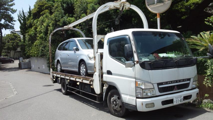 志木市の遺産相続の廃車引き取り