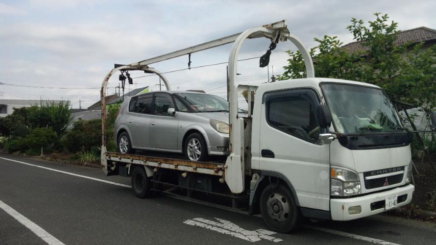 小平市の遺産相続の車の廃車手続き引き取り